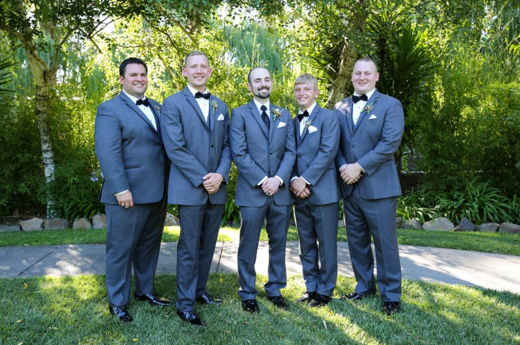 groom and groomsmen at cline cellars sonoma