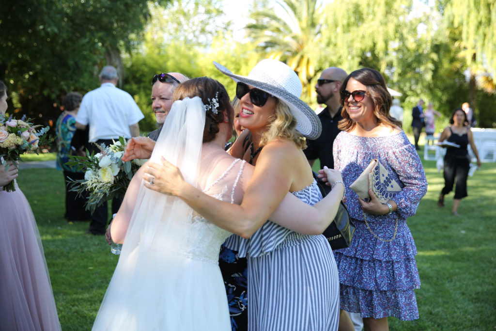 cline cellars wedding reception
