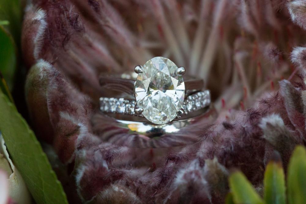 wedding ring closeup photograph