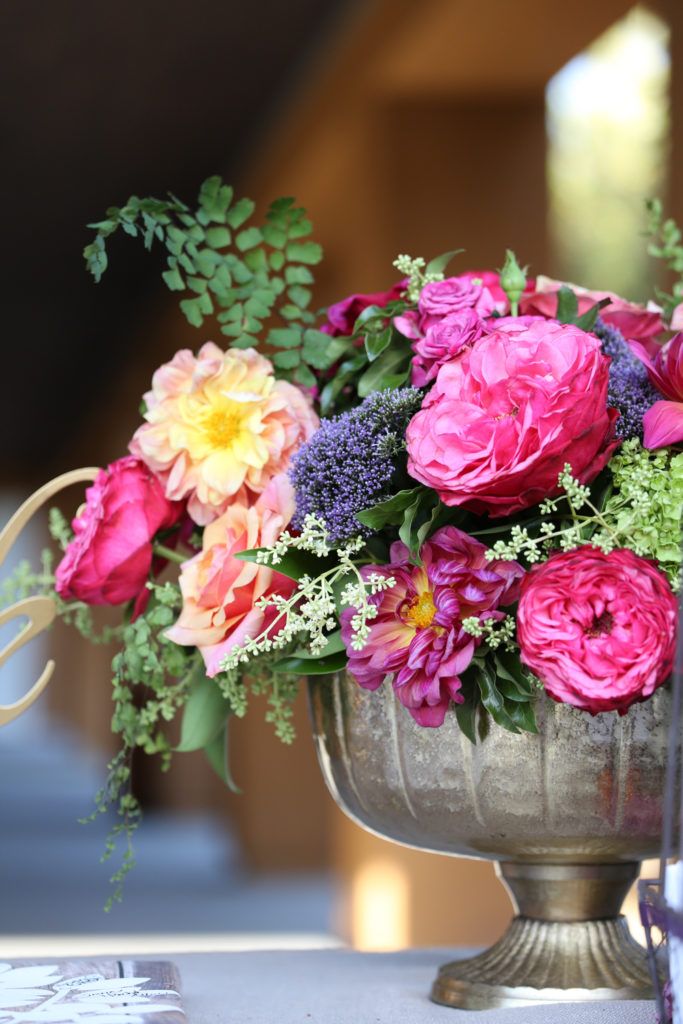flower arrangements by Wine Country Flowers