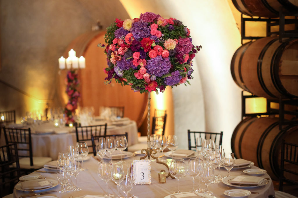 flower arrangements by wine country flowers at Viansa Sonoma