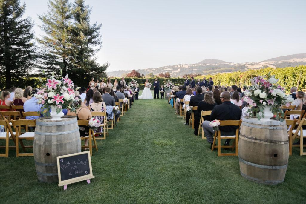Trentadue Wedding ceremony