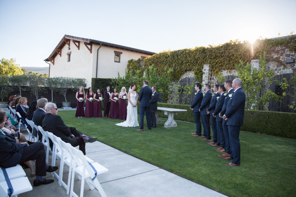 Jacuzzi Winery Wedding Pix