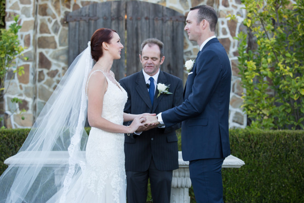 tying the knot at Jacuzzi Family Vineyards