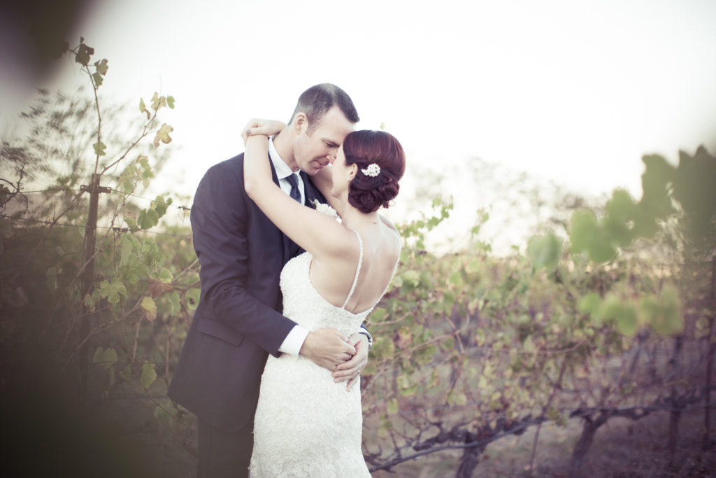Sunset Photos at Jacuzzi Winery Wedding