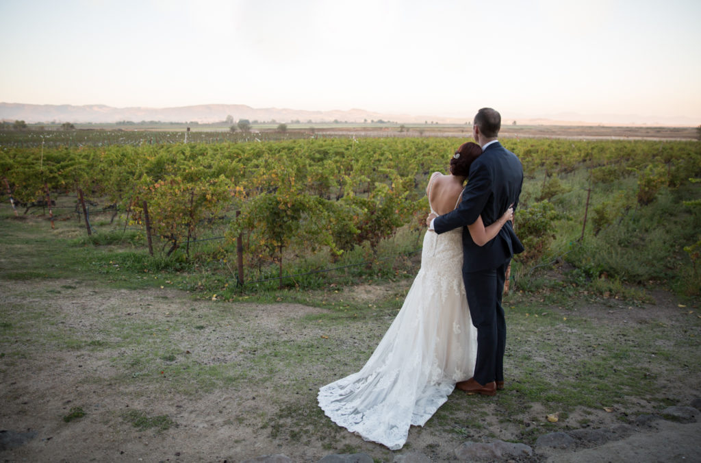 Sunset Photos at Jacuzzi Winery in Sonoma