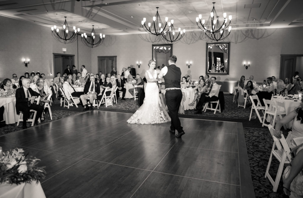 First Dance at Vintners Inn