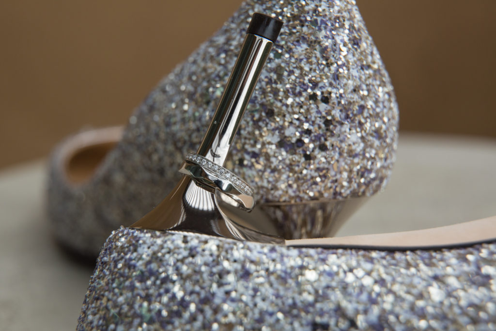 jimmy choo bridal shoes silver sparkle with steel hill